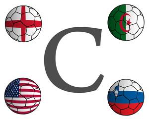 Grupo C Mundial Fútbol