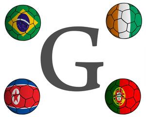 Grupo G Mundial Fútbol