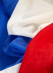 Drapeau tricolore Français.