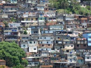 Favela in Santa Teresa