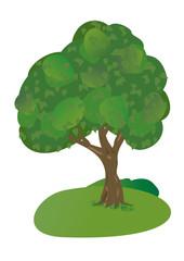 Tree. EPS 8 vector.