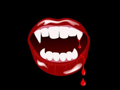 Vampire mouth