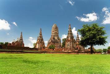 Chai Watthanaram temple,Ayutthaya,Thailand