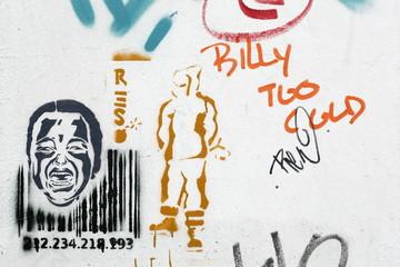Graffiti, Schablone