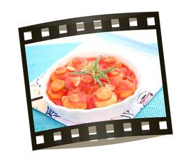 pilze in tomatensauce