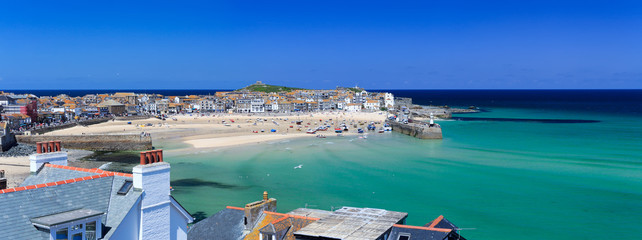St Ives Harbour Panorama