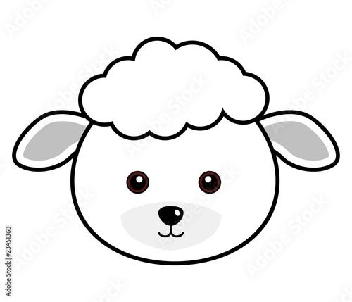 Мордочка овечки картинка