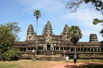 Side entrance into Angkor Wat