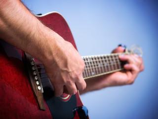 Wall Mural - Guitar player