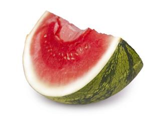 Saftige Melone isoliert