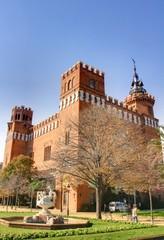 Château des Trois Dragons parc de la Ciutadella barcelone