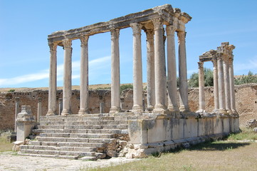 Temple of Minerva, Dougga