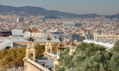 vue de Barcelone