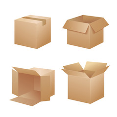 Vector packing boxes