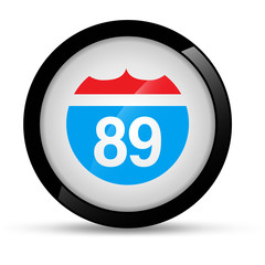 Highway Route Icon