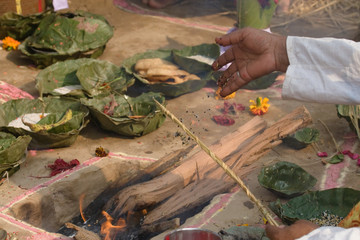 Rituel hindouiste