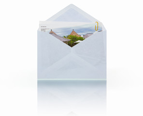 Mail with picture attachment