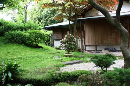 maison traditionnelle japonaise photo libre de droits sur la banque d 39 images. Black Bedroom Furniture Sets. Home Design Ideas