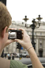Man Photographing the Sites