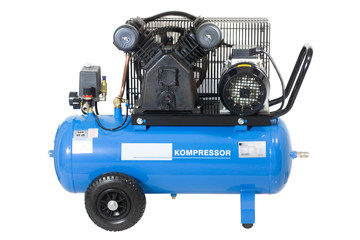 Blue compressor.