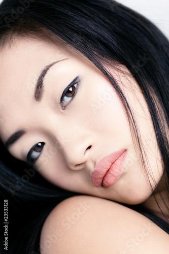 femme asiatique portrait beaut mode photo libre de droits sur la banque d 39 images. Black Bedroom Furniture Sets. Home Design Ideas