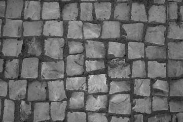 Hand made pavement