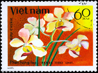 VIETNAM - CIRCA 1979 Vanda