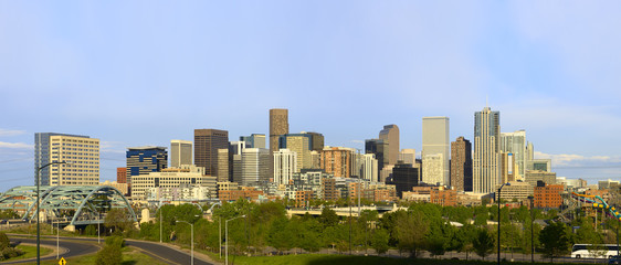 Denver Skyline from West Side