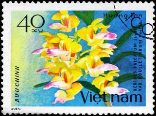 VIETNAM - CIRCA 1979 Aerides