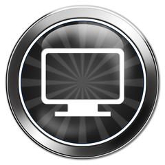 button monitor flatscreen