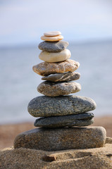 Pyramid of the small pebbles