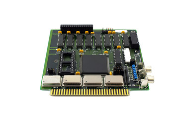 Old controller card for computer
