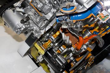 automobile engine