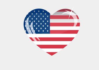 America_flag_EPS10