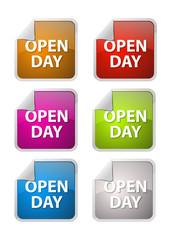 Bottone con Piega Open Day