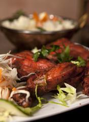 India food - chicken Tandori