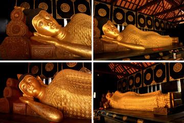 sleeping buddha image