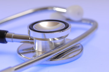 Diagnose mit Stethoskop