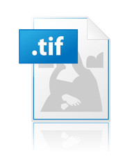 TIF icon (illustration image file format extension bmp jpg tiff)