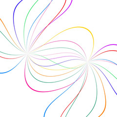 abstract color lines
