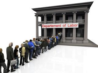 la crise et le travail