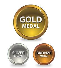 Medaglie Oro - Argento - Bronzo