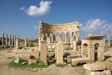 Marché romain, Libye