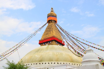Stupa in Boudhanath
