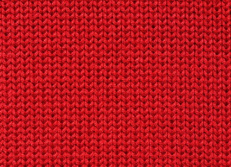 Knitted woolen fabric