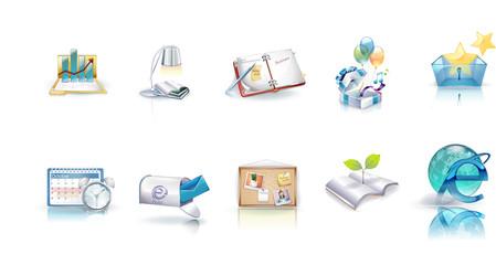 web icons   e-mail   internet explorer icon 3d