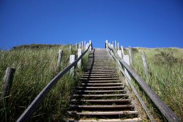 Treppe an der Düne