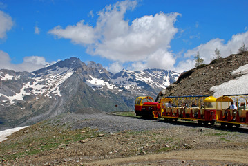 The little Train of Artouste, the highest railway in Europe