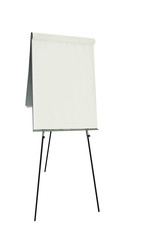 Office flip chart - isolated