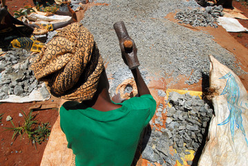 Printed kitchen splashbacks Africa donna africana